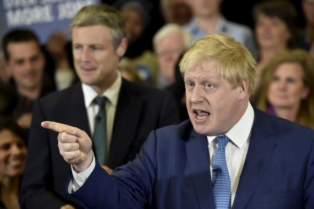 L'ancien maire de Londres, Boris Johnson,a déclaré que... (PHOTO HANNAH MCKAY, ARCHIVES REUTERS)