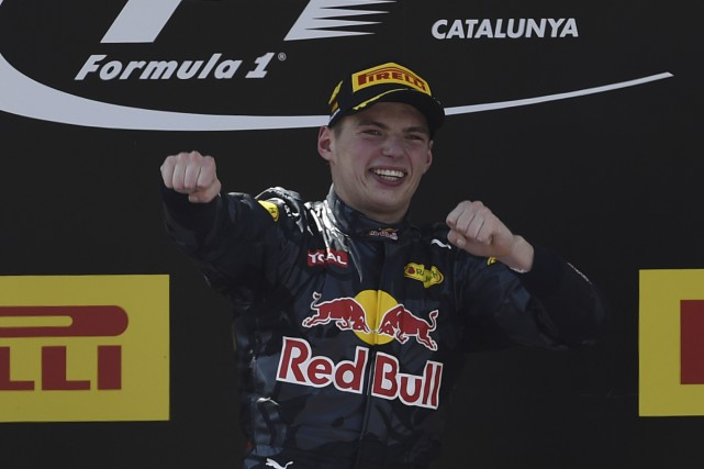 Le pilote de l'écurie Red Bull Max Verstappen,... (AFP)