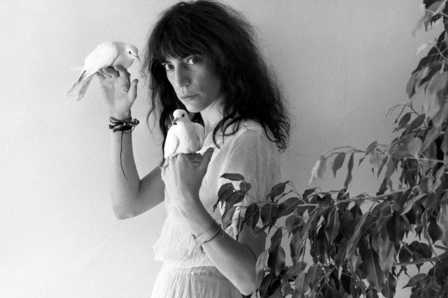 La musicienne, peintre et photographe américaine Patti Smith... (Photo archives Bloomberg News)