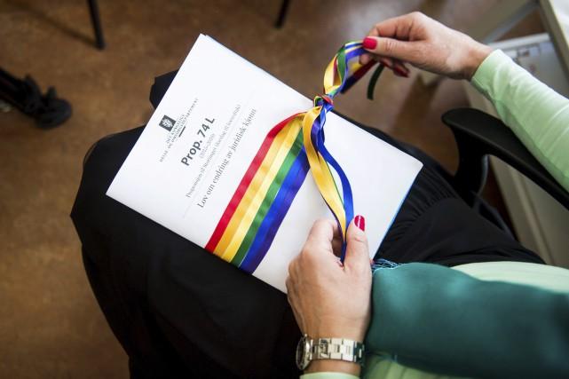 Le projet de loi norvégien est salué comme... (AFP, Fredrik Varfjell)