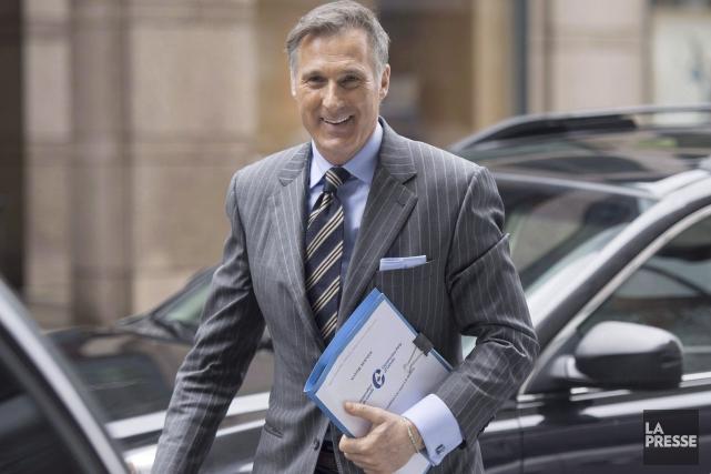 Le député de Beauce, Maxime Bernier, s'est engagé... (La Presse Canadienne, Justin Tang)