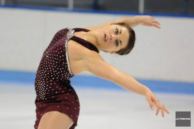 La patineuse Roxanne Rheault... (Archives, La Tribune)