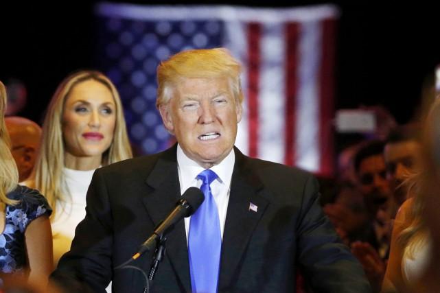 Le candidat républicain «présumé» à la Maison-Blanche Donald... (PHOTO LUCAS JACKSON, ARCHIVES REUTERS)