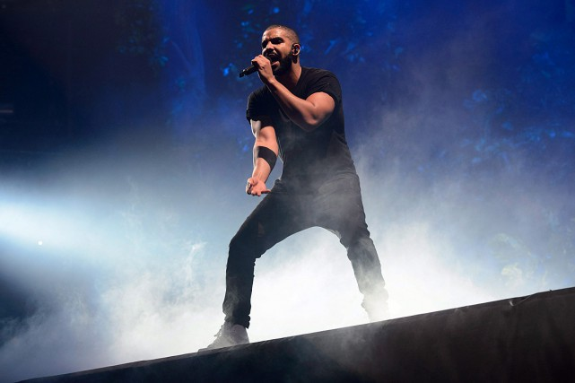 Le rappeur canadien Drake.... (Photo Jonathan Short, Invision, archives AP)