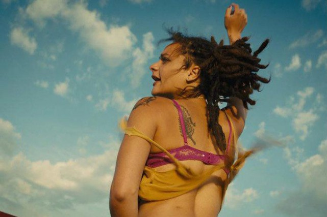 Sasha Lane dans American Honey... (photo fournie par la production)