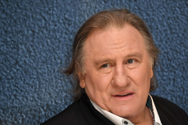 Gérard Depardieu au Festival de Cannes, en mai... (PHOTO ARCHIVES AFP)