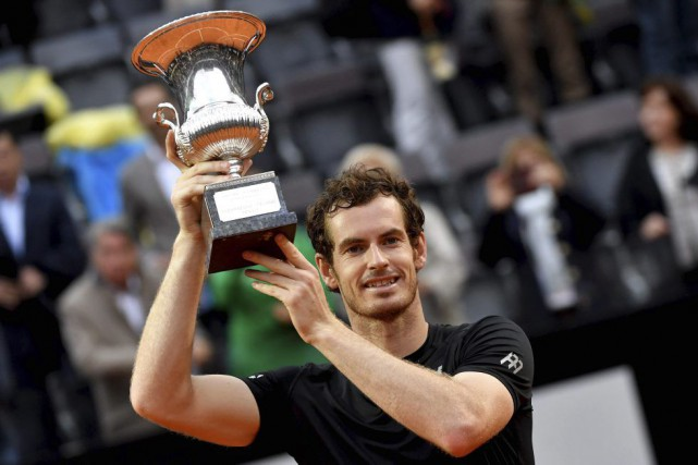 Andy Murray... (PHOTO TIZIANA FABI, AGENCE FRANCE-PRESSE)