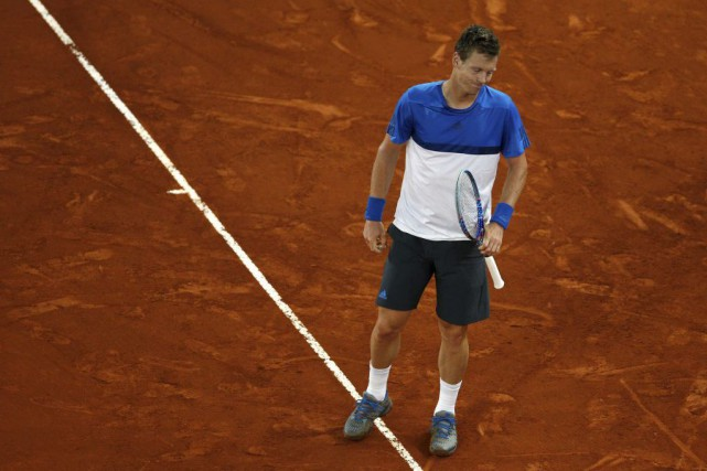 Tomas Berdych... (PHOTO ANDREA COMAS, REUTERS)