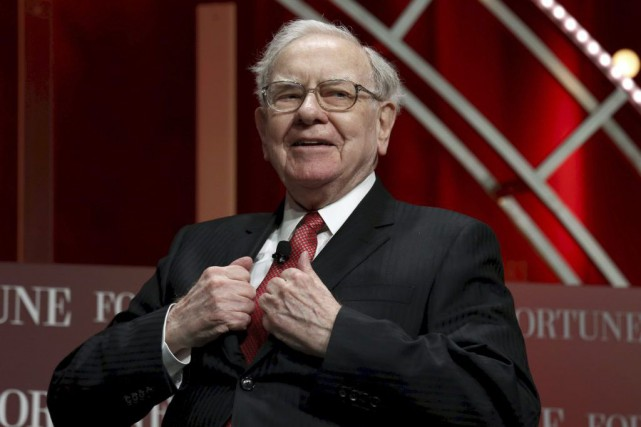 Warren Buffett... (PHOTO KEVIN LAMARQUE, REUTERS)