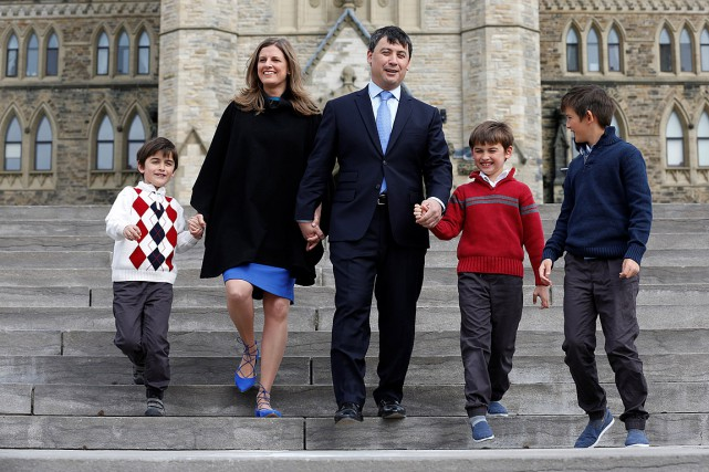 Le député conservateur de l'Ontario Michael Chong a... (Photo Chris Wattie, Reuters)