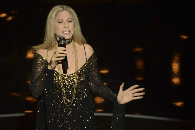 Barbra Streisand en 2013.... (Photo Robyn Beck, archives Agence France-Presse)