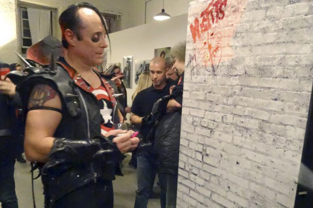Jerry Only, bassiste du groupe Misfits, en 2014.... (PHOTO SHAUN TANDON, ARCHIVES AGENCE FRANCE-PRESSE)