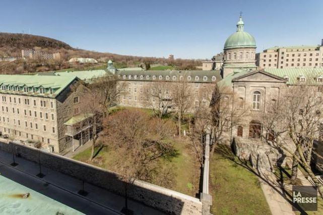Le site patrimonial des religieuses hospitalières de l'Hôtel-Dieu... (PHOTO FOURNIE PAR LA VILLE DE MONTRÉAL)
