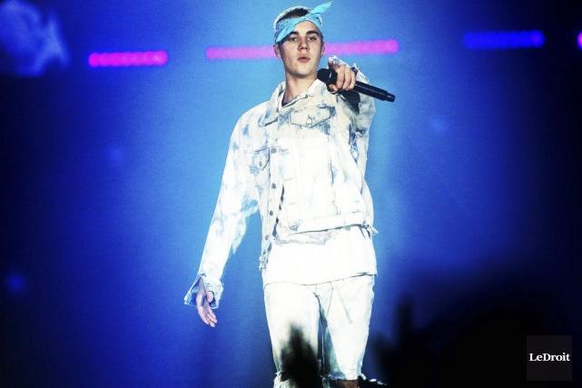 Justin Bieber... (Photo Étienne Ranger, archives Le Droit)