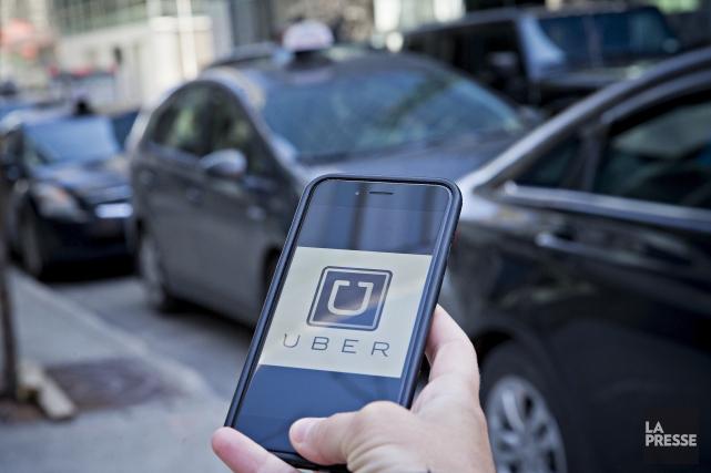 Uber refuse de jeter l'éponge et se dit à la recherche d'un «compromis» pour... (La Presse, Patrick Sanfaçon)