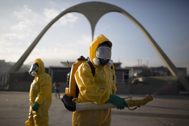 Le Brésil est le pays le plus touché... (AP, Leo Correa)