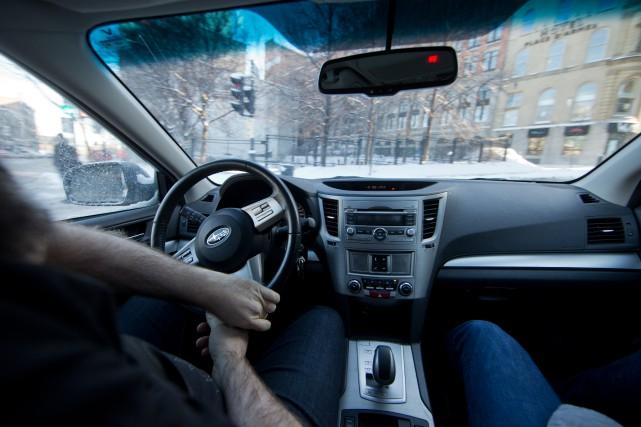 «La pièce manquante pour rivaliser avec la voiture... (photo IVANOH DEMERS, archives LA PRESSE)
