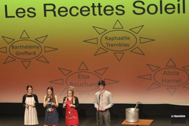 Sur la photo: l'équipe des recettes soleil qui... (Audrey Tremblay, Le Nouvelliste)