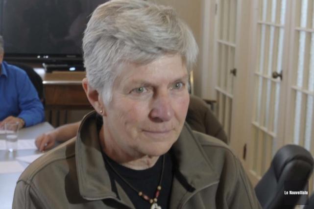 La conseillère municipale de Grandes-Piles, Carole Moisan.... (Sylvain Mayer, Le Nouvelliste)
