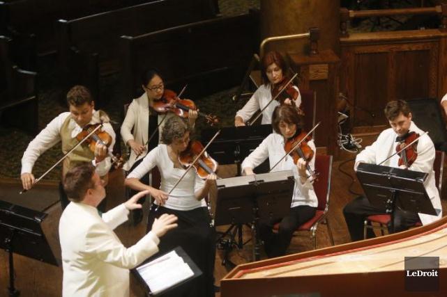 L'orchestre de chambre Thirteen Strings présentera vendredi 27 mai, à 20 h,... (Simon Séguin-Bertrand, archives LeDroit)