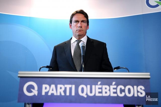 Pierre Karl Péladeau a annoncé sa démission de... (Photo Martin Chamberland, La Presse)