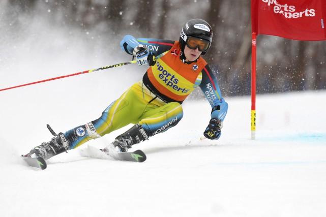«L'année dernière, j'avais été invité à ce camp,... (courtoisie Ski Québec Alpin)