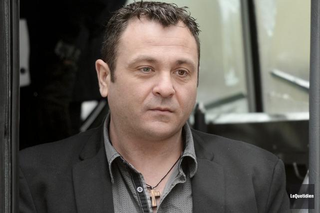Yves Martin, le présumé chauffard du rang Saint-Paul,... (Photo Le Quotidien, Jeannot Lévesque)