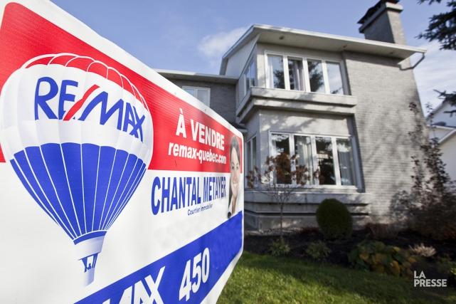 Les ventes de maisons ont connu une augmentation... (Archives, La Presse)