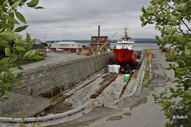 La subvention accordée à un chantier maritime de... (Photothèque Le Soleil, Patrice Laroche)