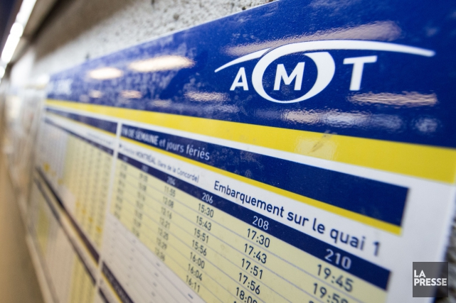 L'AMT reconnaîtque le système de télécommunications utilisé par... (PHOTO OLIVIER PONTBRIAND, LA PRESSE)