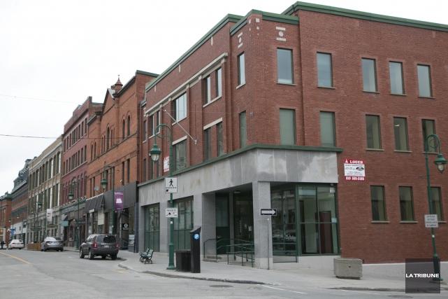 La Ville de Sherbrooke occupera à compter du... (Archives, La Tribune)