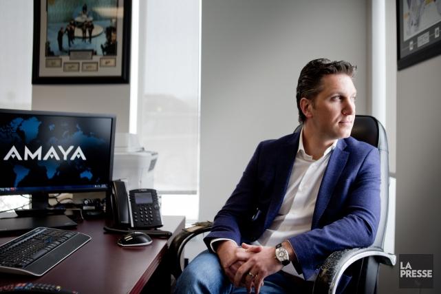 David Baazov, fondateur et ex-PDG d'Amaya,ne sera pas... (PHOTO MARCO CAMPANOZZI, ARCHIVES LA PRESSE)