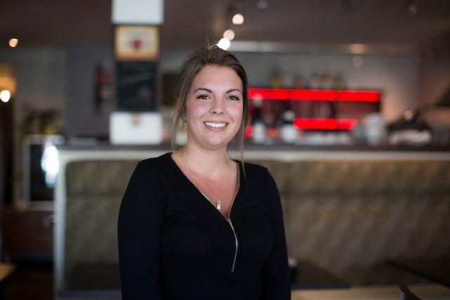 Amélie Gagnon, propriétaire de deux cafés, a obtenu... (PHOTO OLIVIER PONTBRIAND LA PRESSE)