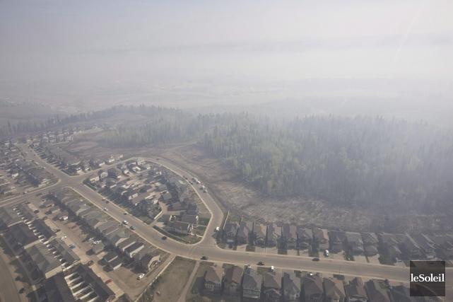 L'indice de la qualité de l'air est trois... (Photothèque Le Soleil, PC Janson Franson)