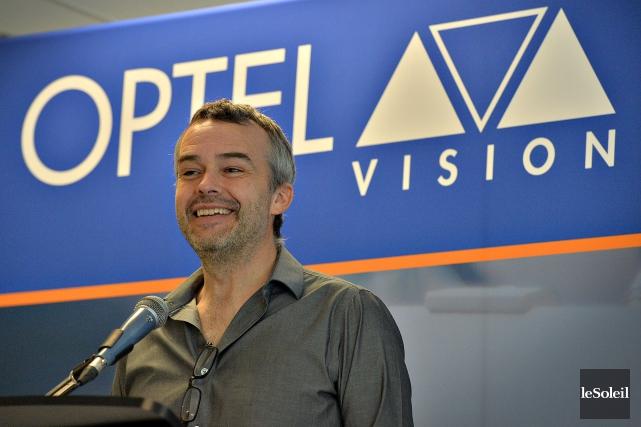 Louis Roy, président d'Optel Vision... (Photothèque Le Soleil, Patrice Laroche)