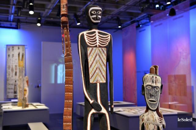 L'exposition Lignes de vie, présentée au Musée de... (Photothèque Le Soleil, Pascal Ratthé)