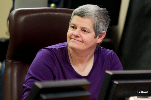 La conseillère Denise Laferrière est visée par une... (Archives, Le Droit)