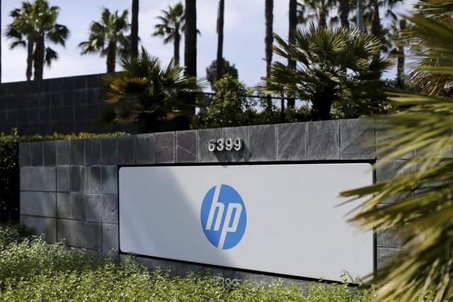 La société américaine HP Inc, qui a conservé les activités historiques de... (Photo Mike Blake, Reuters)