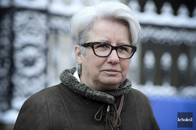 Agnès Maltais... (Photo Erick Labbé, archives Le Soleil)