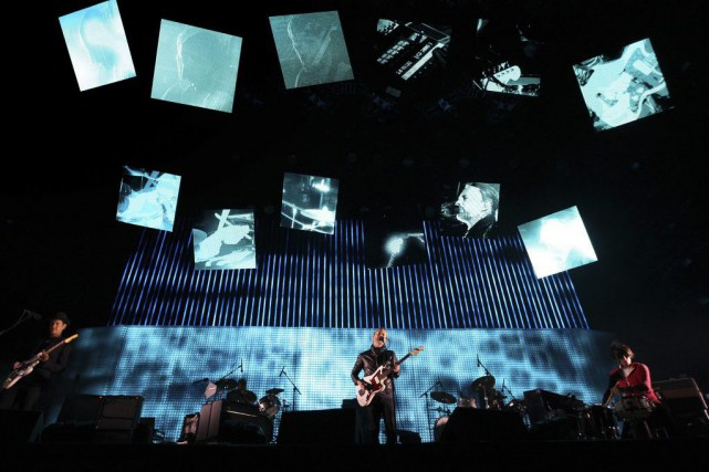 Radiohead à Coachella, en 2012.... (PHOTO DAVID MCNEW, ARCHIVES REUTERS)