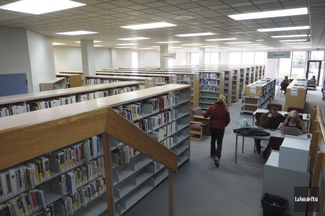 Le projet de modernisation de la bibliothèque Paul-O-Trépanier... (Alain Dion, La Voix de l'Est)