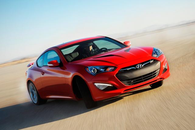 Une Hyundai Genesis Coupe... (Photo fournie par Hyundai)