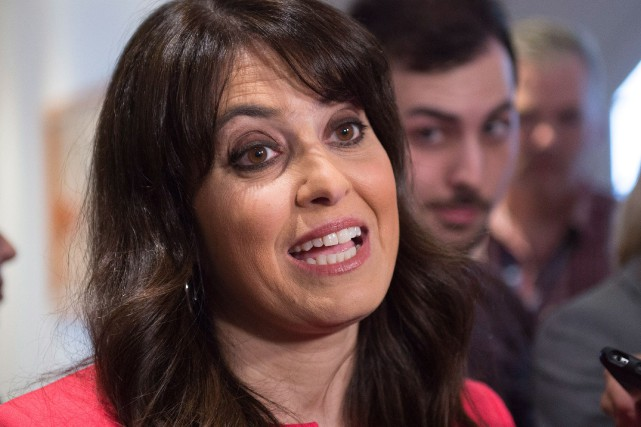 Véronique Hivon, candidate à la direction du Parti... (Archives La Presse Canadienne)
