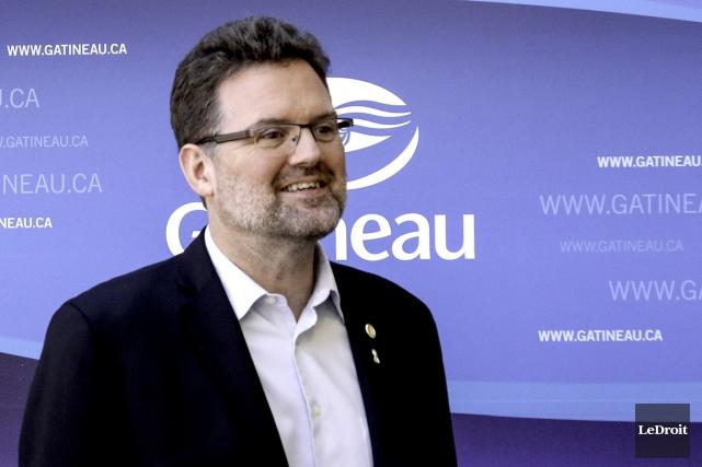 Maxime Pedneaud-Jobin, maire de Gatineau.... (Le Droit)