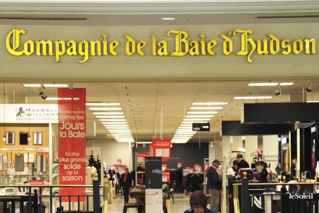 Le magasin La Baie d'Hudson du centre commercial... (Photothèque Le Soleil)