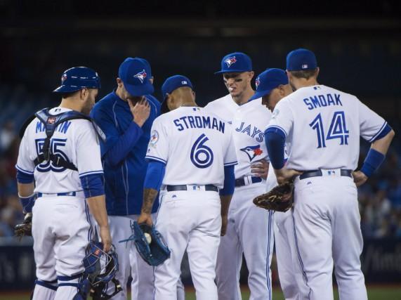 Les Blue Jays ont perdu par une marge... (Nathan Denette, La Presse Canadienne)