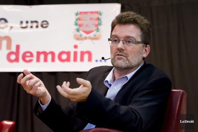 Le maire de Gatineau, Maxime Pedneaud-Jobin... (Archives, LeDroit)