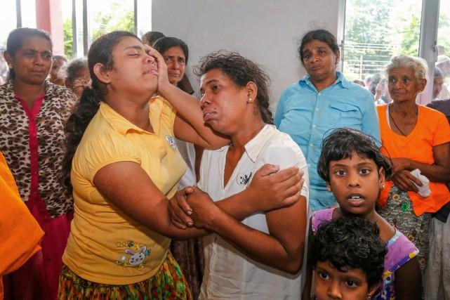 Quelque 350000 personnes ont été touchées par les... (PHOTO AFP)