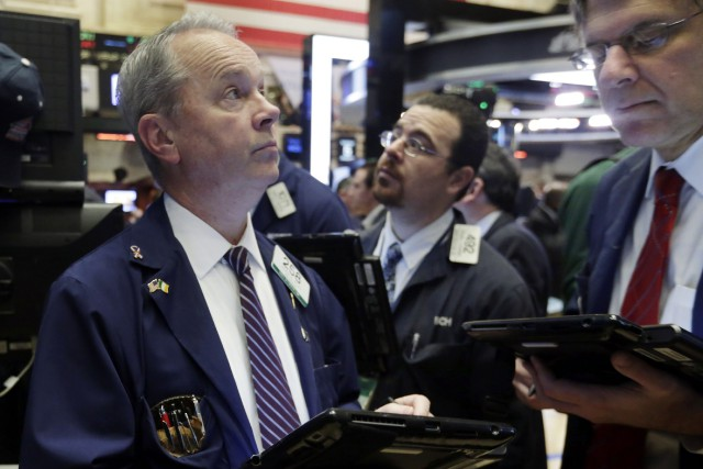 Désormais, Wall Street reste en retrait «car des... (PHOTO RICHARD DREW, ASSOCIATED PRESS)