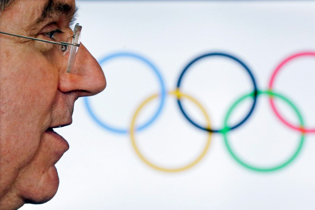 Thomas Bach, président du Comité international olympique, a dit... (Photo Morry Gash, archives Associated Press)